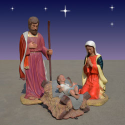 Christmas Mary, Joseph and Baby Jesus