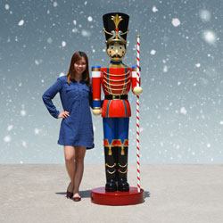 large outdoor toy soldier - Large Life Size Toy Soldier Christmas Outdoor Decorations