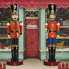 View: Life Size Toy Soldier and Toy Soldier w/Baton  6.5 ft H