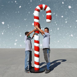 Giant Candy Canes
