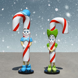 Fun Candy Canes