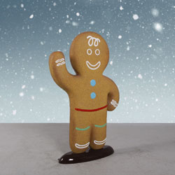 Fiberglass Gingerbread Boy