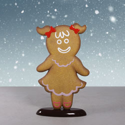 Fiberglass Gingerbread Girl
