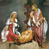 "View: Fontanini Life Size Holy Family 70"" Scale"