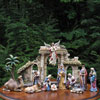 "View: Joseph's Studio Nativity 13 pc. 6"" scale"