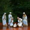 "View: Josephs Studio 7.5"" Damask Nativity 6 pc.."
