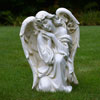 View: Ivory Kneeling Angel 22.5 inch Height