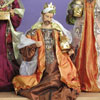 "View: Large King GASPAR in Resin and Fabric - 42"" scale"