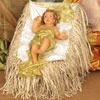 View: Life Size BABY JESUS in resin and fabric - 5 ft. scale