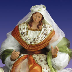 life size indoor Mary figurine