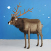 "View: Life Size Plush Reindeer 60""H Ride-on"
