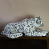"View: Large Snow Leopard, Mama, 47""L"