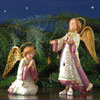 "View: Patience Brewster Nativity Set Angels 7.5"" & 5""H"