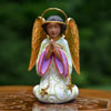 "View: World Edition Kneeling Angel 5""H Patience Brewster Collection"