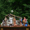 "View: The Real Life Small Nativity Set 14 pc. 10"" scale w/Stable"