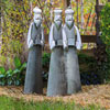 View: Handcrafted Metal Three Kings 38 inch scale