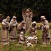 "View: Inspirational Wood Look Nativity Set 37""H 9 Piece"