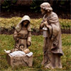 "View: Inspirational Wood Look Holy Family 35.4""H"