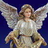 "Artisan Holy Family, Angel and Lambs from Joseph's Studio 27.5"" -"