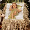 "View: Large Holy Family BABY in Resin and Fabric - 42"" scale"